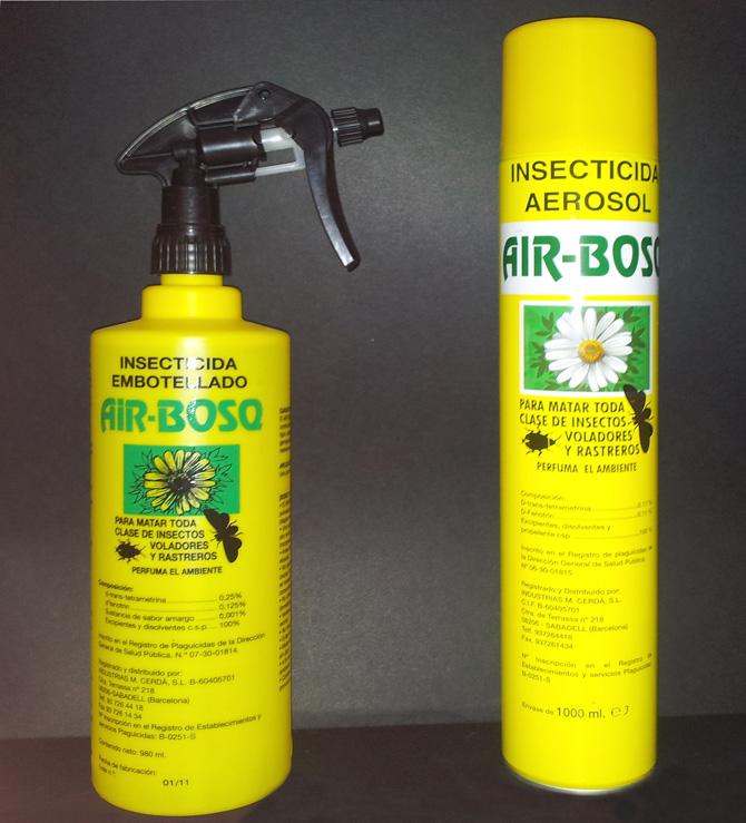 Insecticida natural Air-Bosq