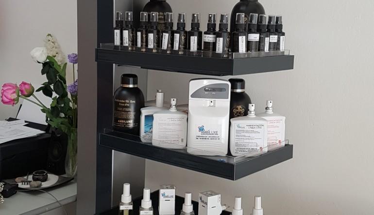 Servicios de aromas, desinfección e higiene ambiental